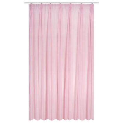 Тюль на ленте Лол 300х280 см цвет розовый