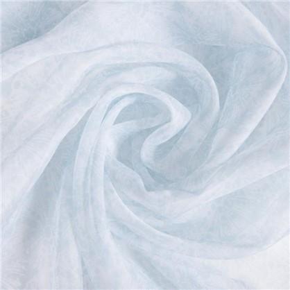 Тюль на ленте Море Карлин 250х260 см цвет голубой