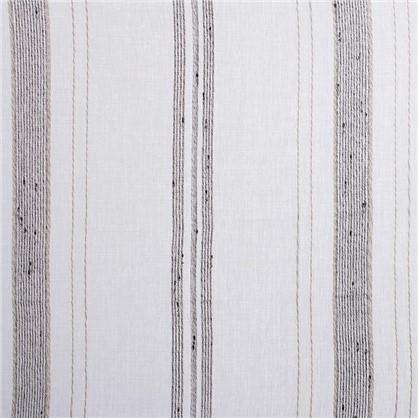 Тюль на ленте Натурель 250х260 см цвет серый
