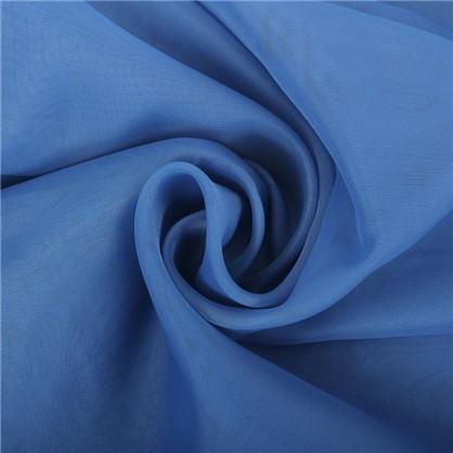 Тюль на ленте Polyone 140х260 см цвет синий