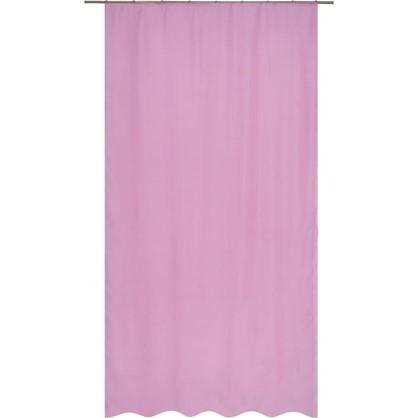 Тюль на ленте Polyone 140X260 см цвет темно-розовый