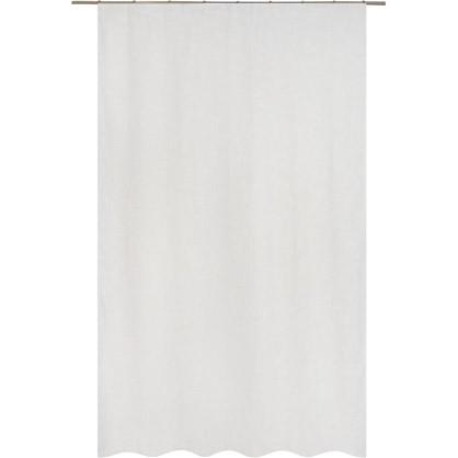 Тюль на ленте Rush 160х260 см вуаль цвет золотой белый