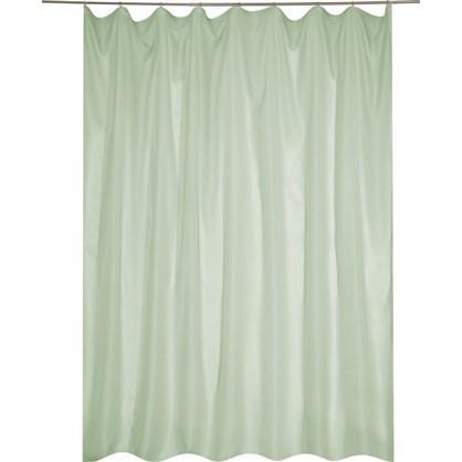 Тюль на ленте Softy 300х260 см вуаль цвет зеленый