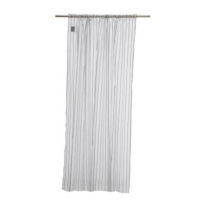 Тюль на ленте Stripe 160х260 см вуаль цвет голубой