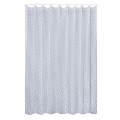 Тюль на ленте Власта 290х280 см цвет белый