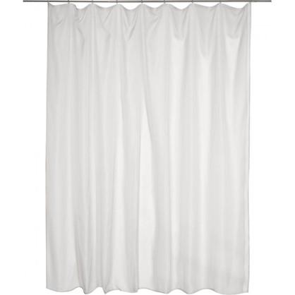 Тюль на ленте вуаль 300х280 см цвет серый