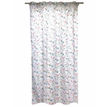 Тюль на ленте Wiluna 140х260 см вуаль цвет розовый