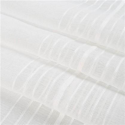 Тюль Полоса 1 п/м 280 см под лен цвет экрю