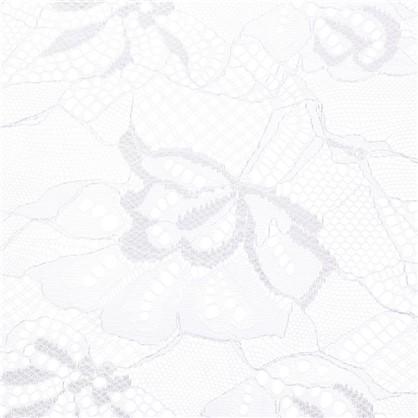 Тюль Сильвия жаккард 280 см цвет молочный
