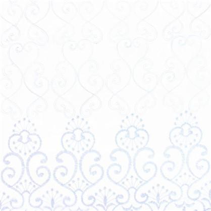 Купить Тюль Веста вышивка на сетке 280 см цвет белый дешевле