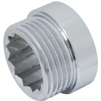 Удлинитель внутренняя резьба 1-10 мм цвет хром