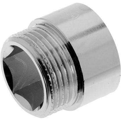 Удлинитель внутренняя резьба 1-15 мм цвет хром