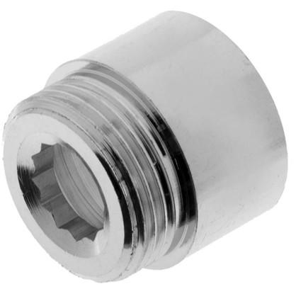 Удлинитель внутренняя резьба 1-20 мм цвет хром