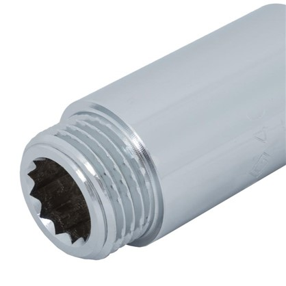 Купить Удлинитель внутренняя резьба 1/2х40 мм цвет хром дешевле