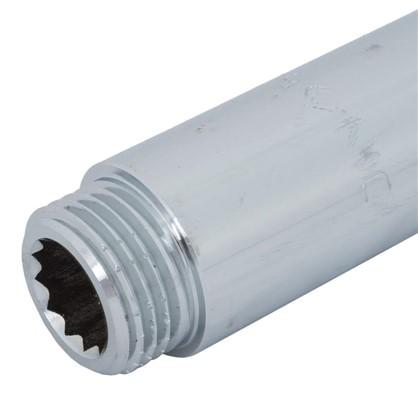 Удлинитель внутренняя резьба 1/2х50 мм цвет хром