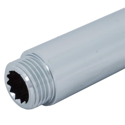 Удлинитель внутренняя резьба 1/2х70 мм цвет хром