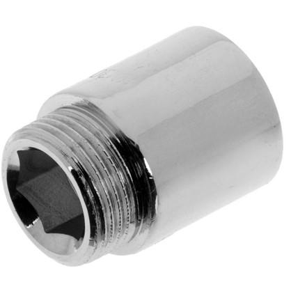 Удлинитель внутренняя резьба 3/4х30 мм цвет хром