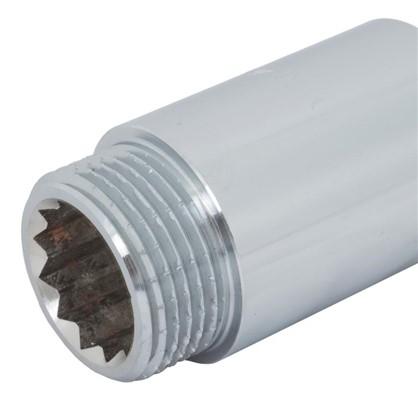 Удлинитель внутренняя резьба 3/4х40 мм цвет хром