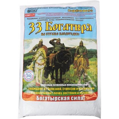 Удобрение 33 Богатыря для оздоровления почвы 5 л