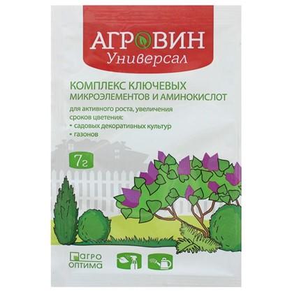 Удобрение-антистрессант Агровин Универсал для садовых декоративных растений