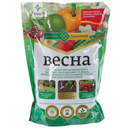 Купить Удобрение Долина плодородия весна ОМУ 3 кг дешевле