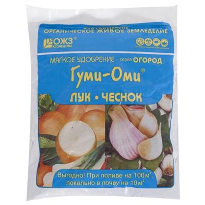 Купить Удобрение Гуми-Оми для лука и чеснока органо-минеральное 0.7 кг дешевле