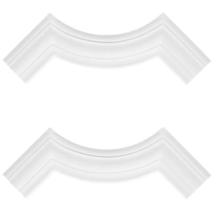 Купить Угловой элемент Decomaster  97012-3 полиуретан 11х11 см 2 шт. дешевле