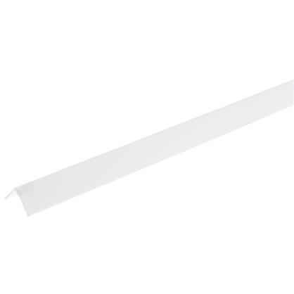 Угол 10х10x2700 мм ПВХ цвет белый