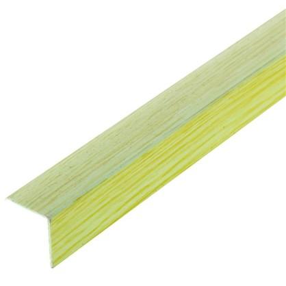 Угол 20x20x2700 мм ПВХ цвет салатовый