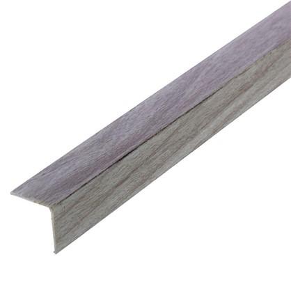 Купить Угол 20x20x2700 мм ПВХ цвет ясень светло-серый дешевле