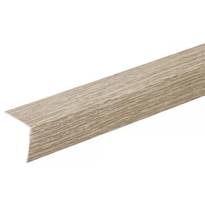 Угол 30x30x2700 мм ПВХ цвет дуб аляска