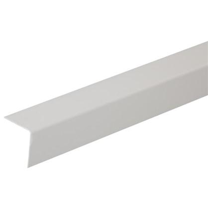 Угол 30x30x2700 мм ПВХ цвет серый