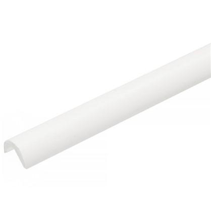 Угол 3/4 2700 мм ПВХ вспененный цвет белый