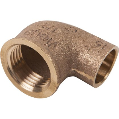 Угол 90° Viega 15х1/2 внутренняя резьба медь