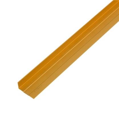Купить Угол алюминиевый 267 2 м цвет золото дешевле