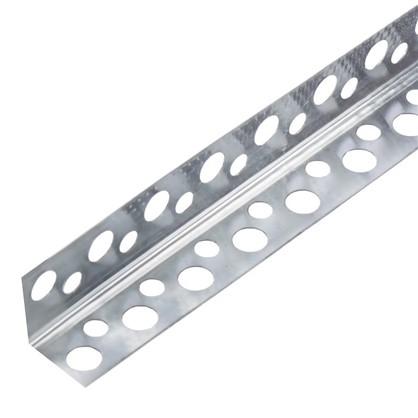Купить Угол алюминиевый перфорированный 20x20x3000 мм 0.27 мм дешевле
