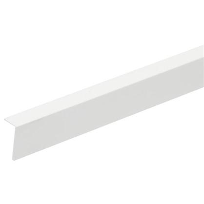 Угол арочный 10х20х2700 мм ПВХ цвет белый