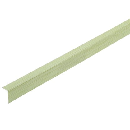 Угол арочный 10х20х2700 мм ПВХ цвет салатовый