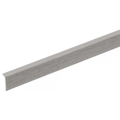 Купить Угол арочный 10х20х2700 мм ПВХ цвет ясень серый дешевле