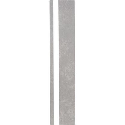 Угол для кухонного шкафа Берлин 4х70 см МДФ цвет белый