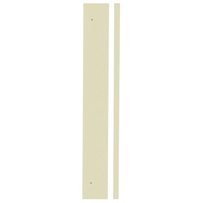 Угол для кухонного шкафа Лен рогожка 4х70 см ЛДСП цвет лен