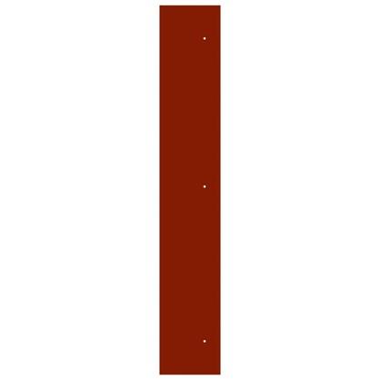 Угол для кухонного шкафа Пунш 4х70 см ЛДСП цвет красный