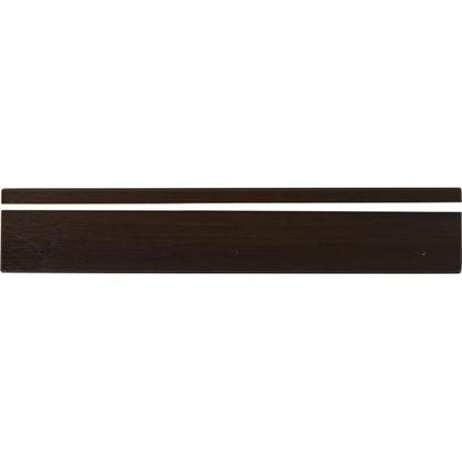 Угол для кухонного шкафа Византия 4х70 см цвет темно-коричневый