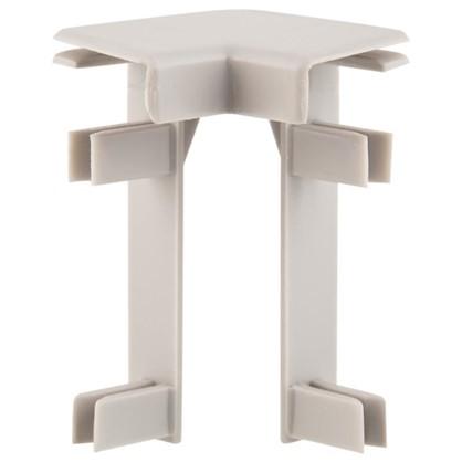 Купить Угол для плинтуса под ковролин/линолеум внутренний 50 мм 2 шт. дешевле