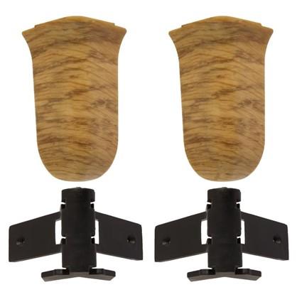 Угол для плинтуса внешний Artens Мачерат 65 мм 2 шт.