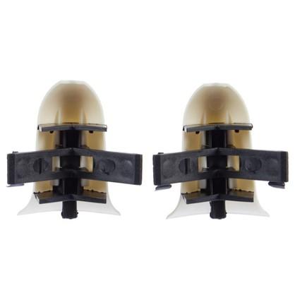Угол для плинтуса внешний Дуб Светлый 55 мм 2 шт.
