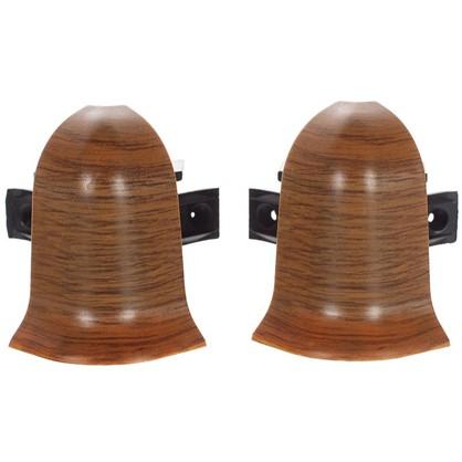 Угол для плинтуса внешний Осина Обыкновенная 47 мм 2 шт.