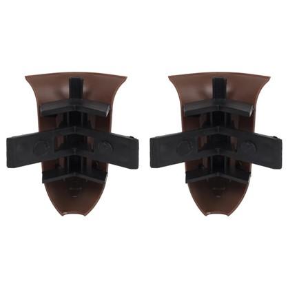 Угол для плинтуса внешний Венге 55 мм 2 шт.