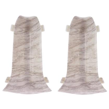 Угол для плинтуса внутренний цвет дуб веронский 2 шт.