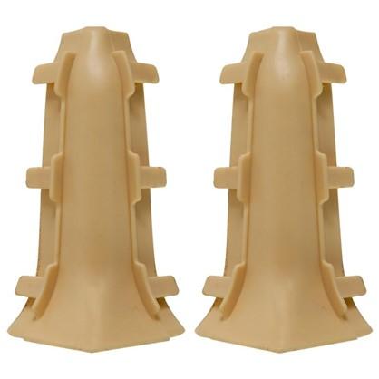 Угол для плинтуса внутренний Дуб Роял 85 мм 2 шт.